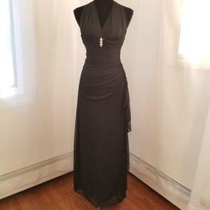 Black, Elegant  Gown